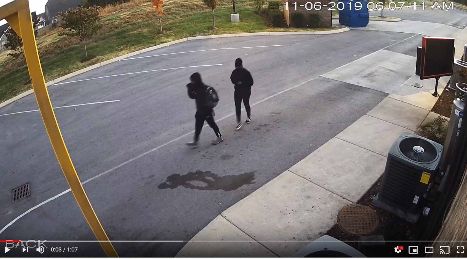 VIDEO: Man and Woman arrested for a string of business burglaries in Murfreesboro