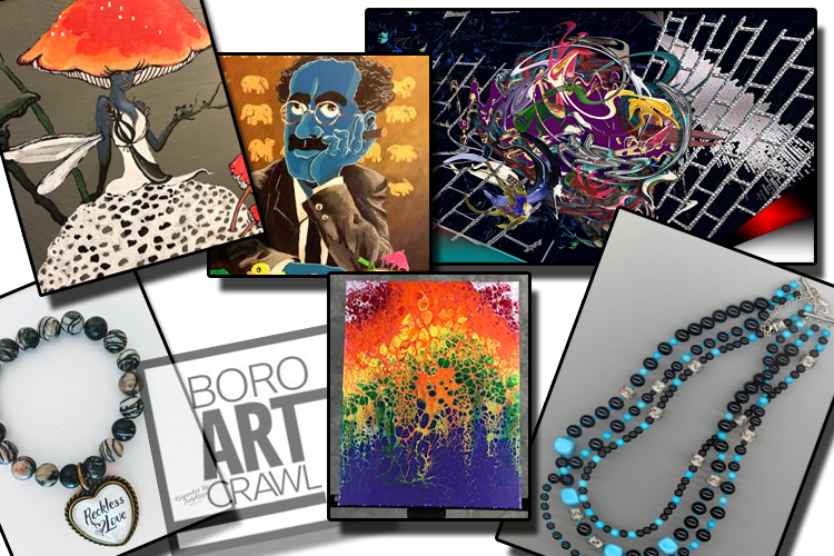 April Boro Art Crawl celebrates Earth Day