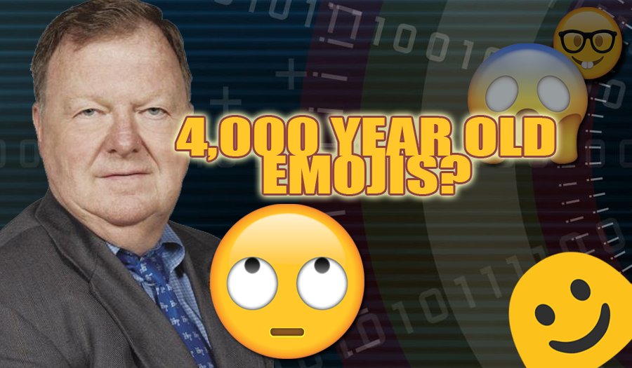 Emojis today and how do they relate to hieroglyphics - by MTSU Professor Larry Burriss