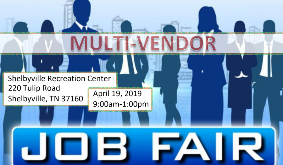 Large Job Fair in Shelbyville on Friday