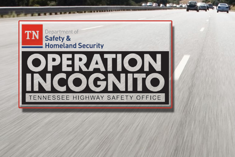 Operation Incognito in Tennessee by Dept. of Safety