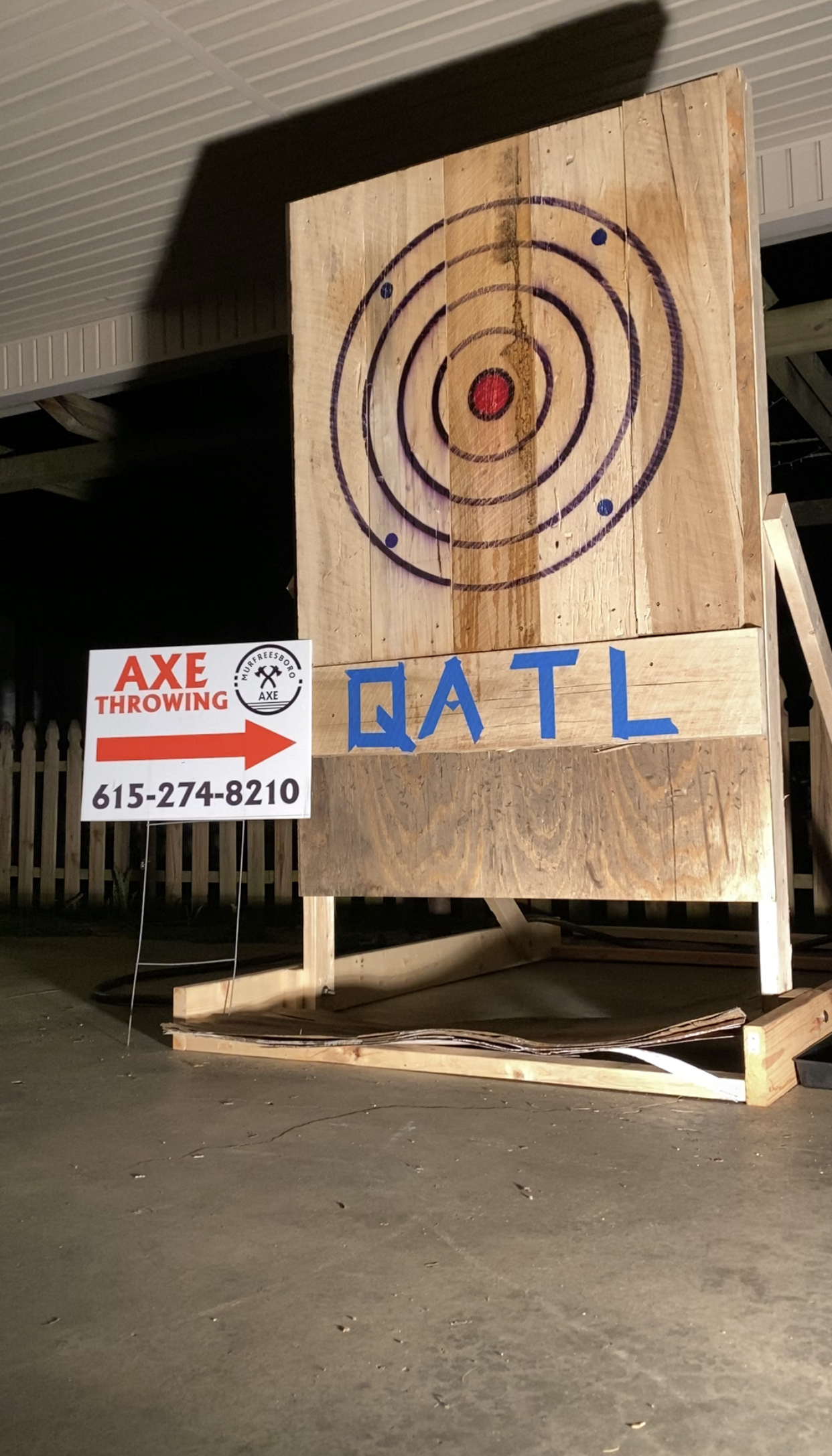 Axe Throwing Continues during COVID-19 Pandemic