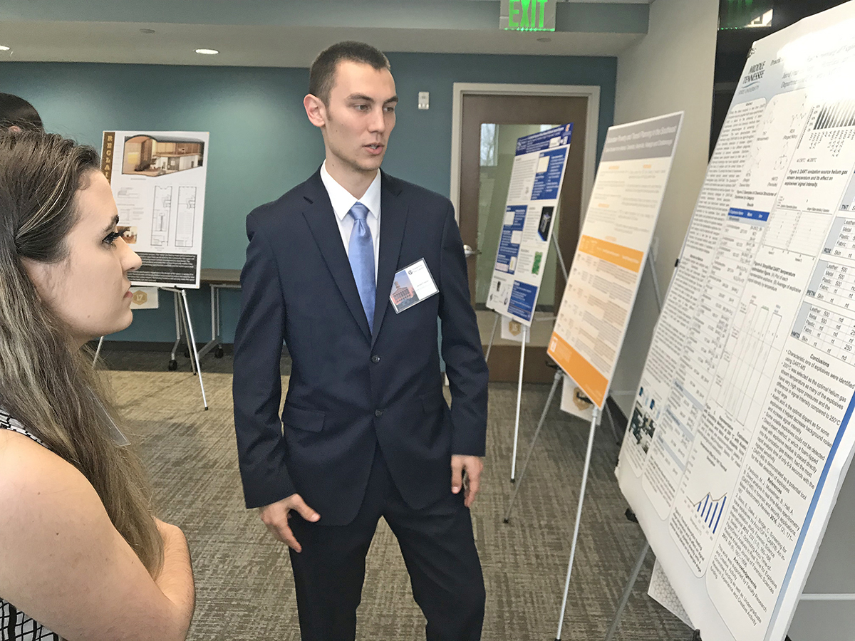 MTSU 'scientist in the making'  Frazier earns Goldwater Scholarship