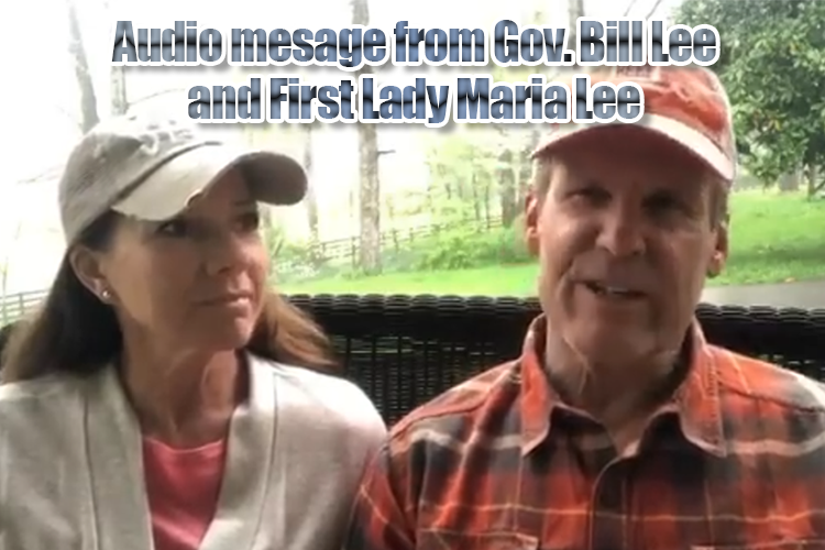 TN Gov. Bill Lee releases message on Easter Sunday after a special video release