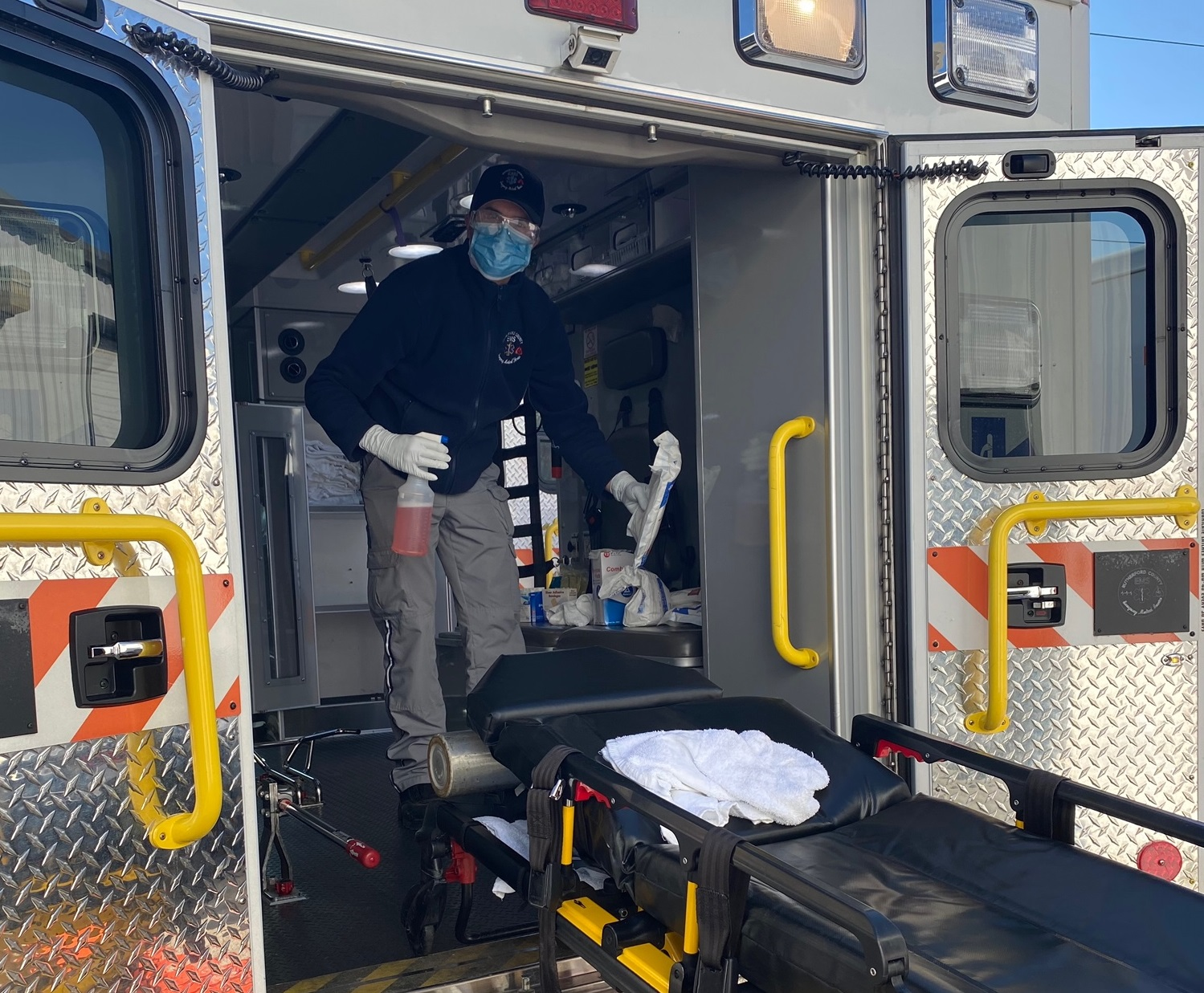 Rutherford County EMS Takes Extra Measures to Protect Employees and Patients from COVID-19