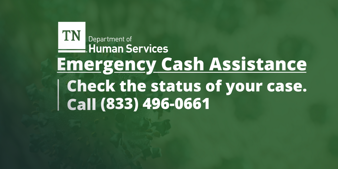 REMINDER: Assistance Available for Tennessee Residents in need of Help due to Pandemic