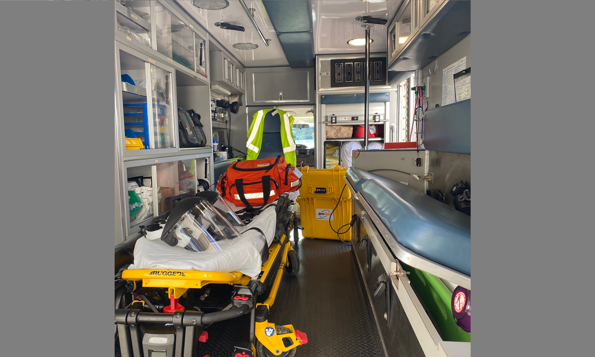 Rutherford County Emergency Medical Services (RCEMS) recently shared their COVID-19 protocols...