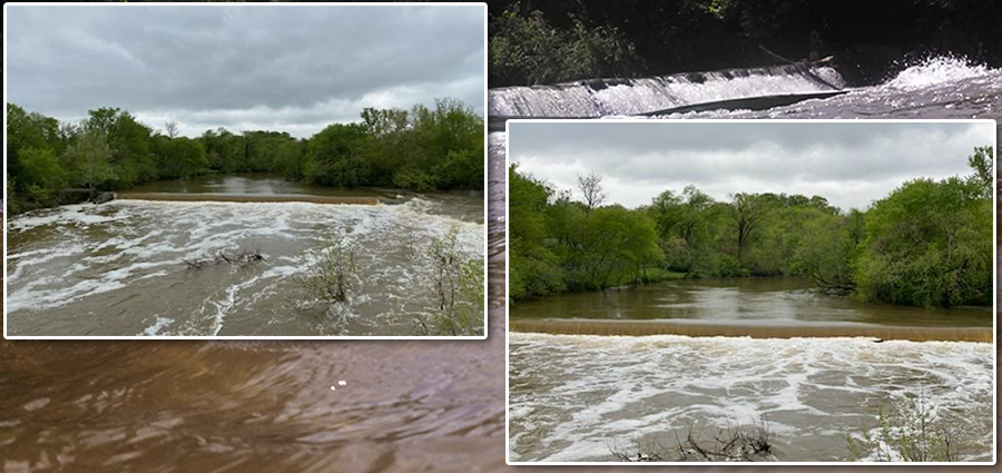 REMINDER: Stones River continues to be HIGH due to recent rainfall