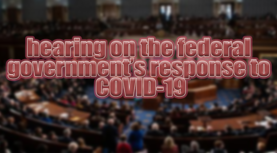 HEARING on Government Response to COVID-19