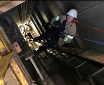 Arnold Fire and Emergency Services team rescues five people trapped 300 feet underground at J-4