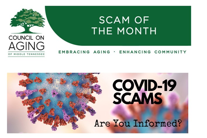 REMINDER: COVID-19 Scams Continue