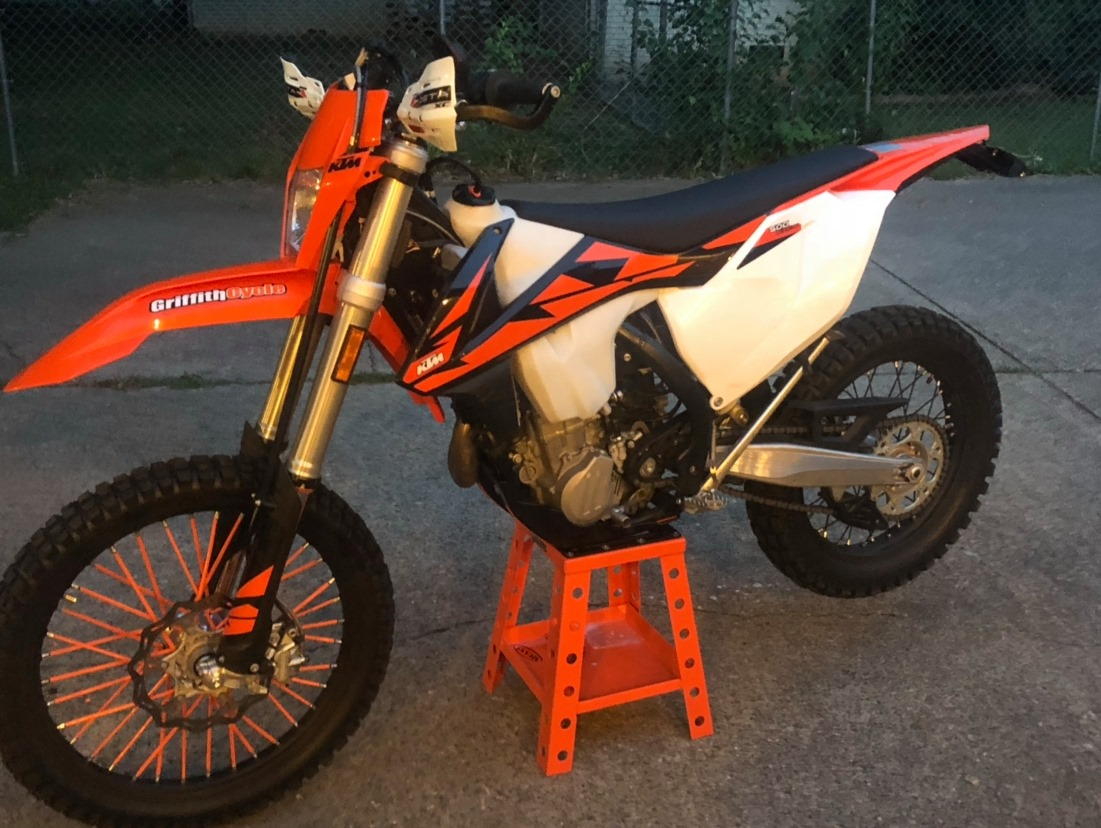 Reward of $2,500 for the Recovery of a Stolen KTM Dirt Bike
