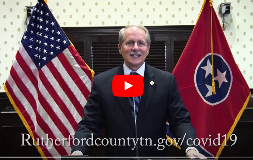 Rutherrford County Mayor Makes Announcement