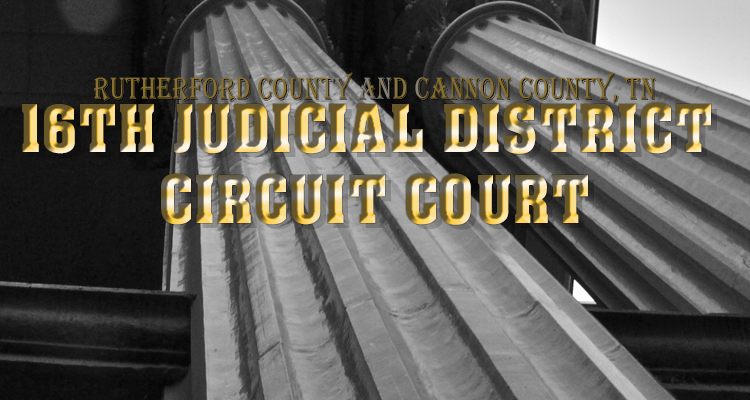 The Courts Want Your Input - Hearing in Murfreesboro on June 12th