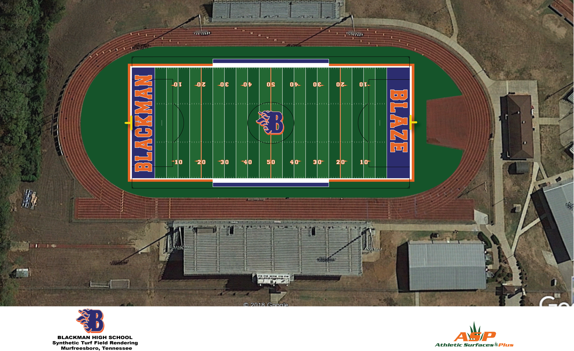 Blackman High's New Turf Field To Honor Bart Smith