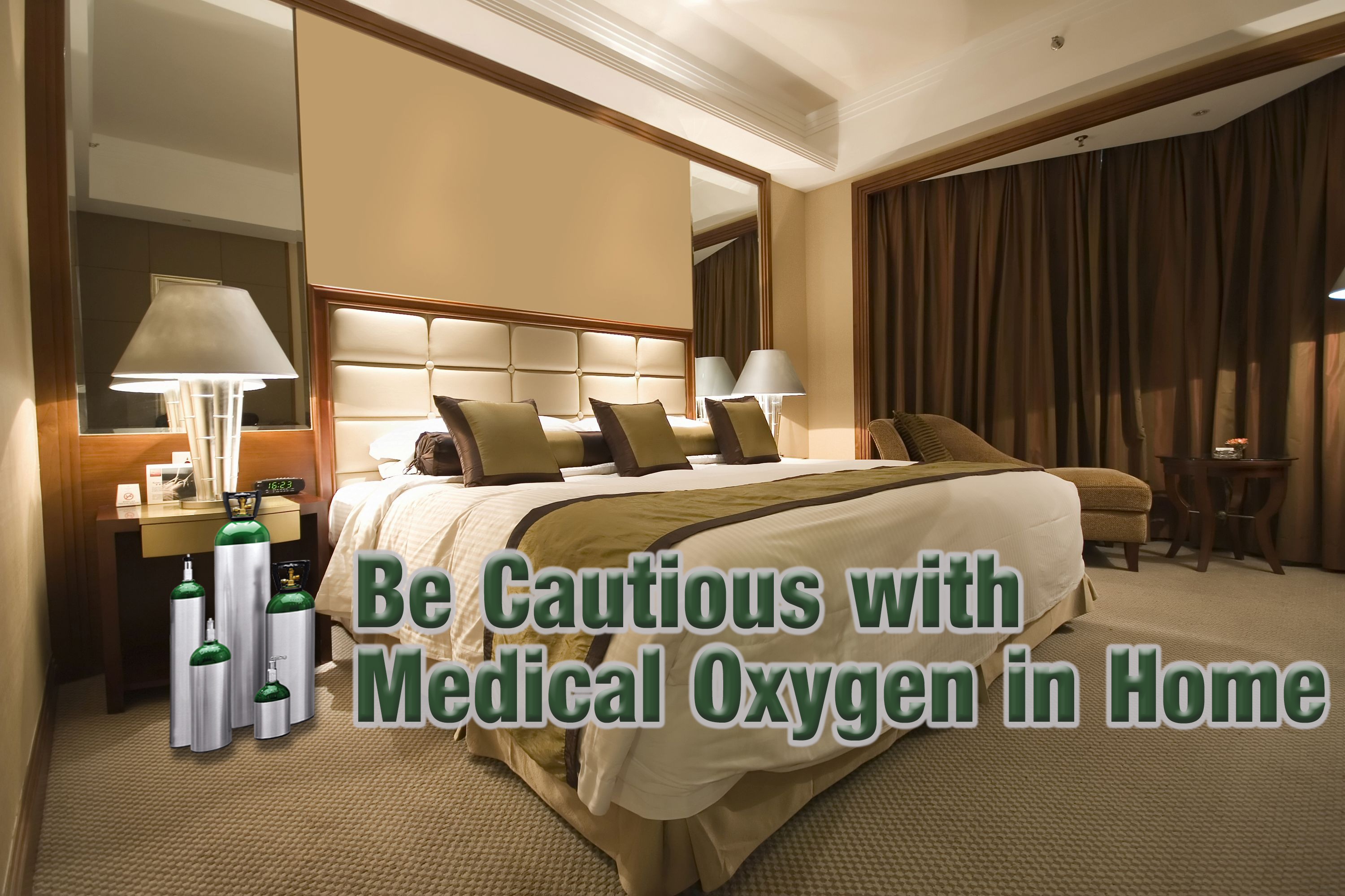 Use Caution with Medical Oxygen