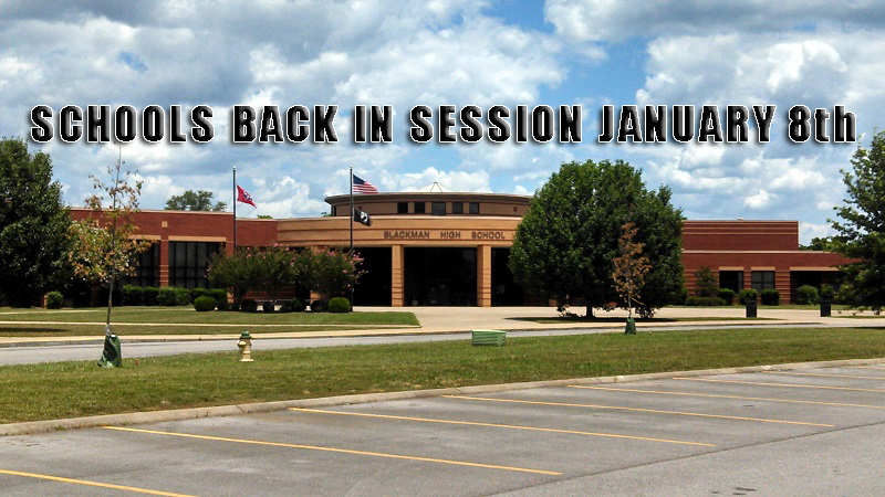 Local Schools Return Soon