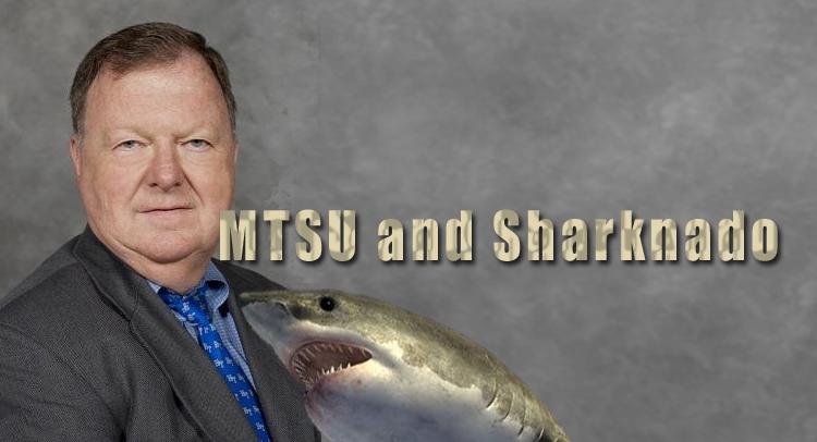 MTSU Professor talks about Sharknado