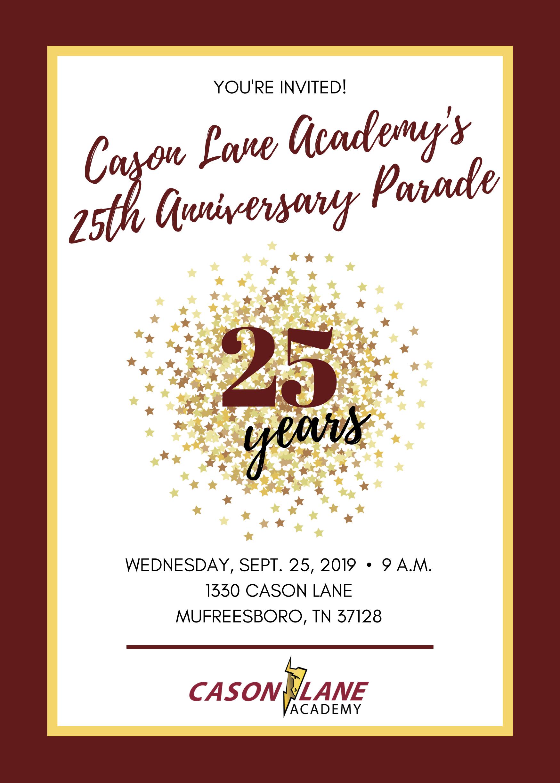 Cason Lane Academy in Murfreesboro: 25 Years of Teaching