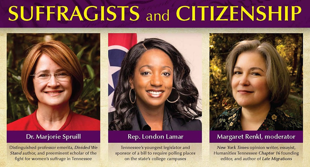 Celebrate Constitution Day Sept. 17 with MTSU women's suffrage panel, voter registration, historic readings