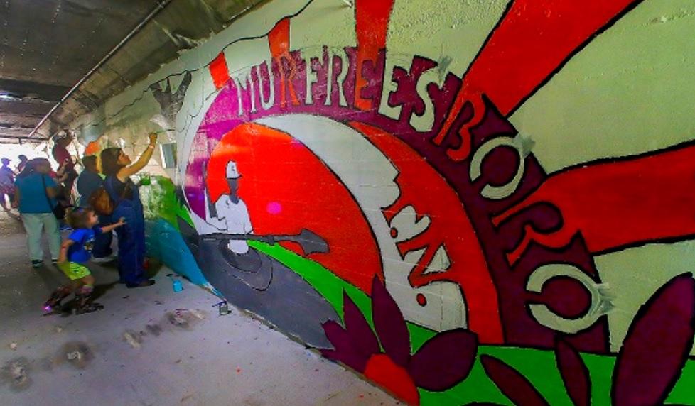 ARTS: New Murals in Murfreesboro