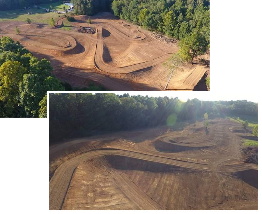 Motocross enthusiasts now have a local track to practice, and in the near future, to watch races.