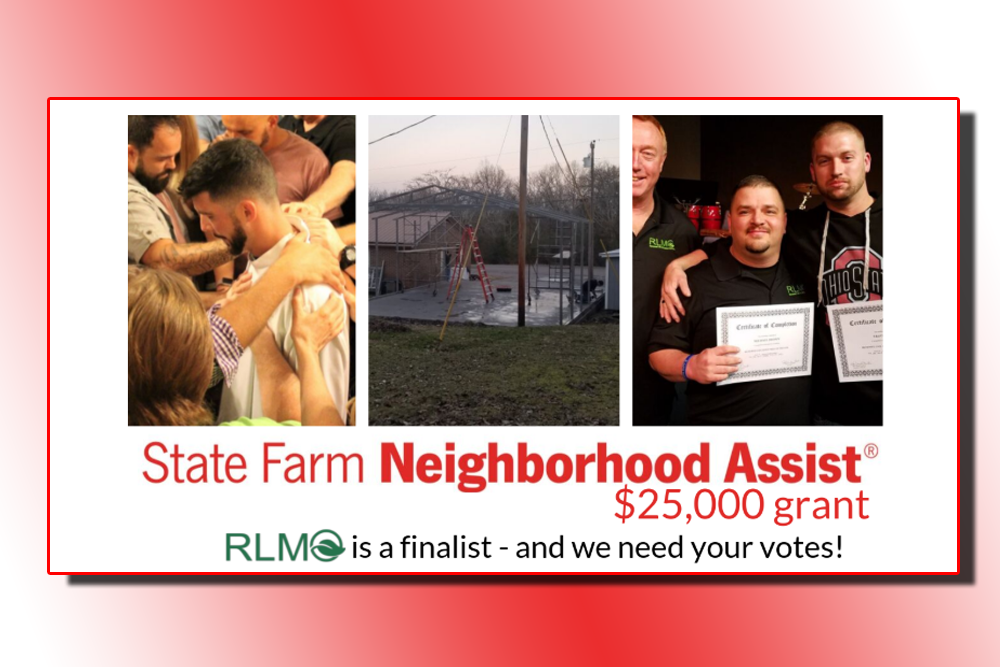 Vote for local non profit Renewed Life Ministries Outreach to receive a $25,000 grant today