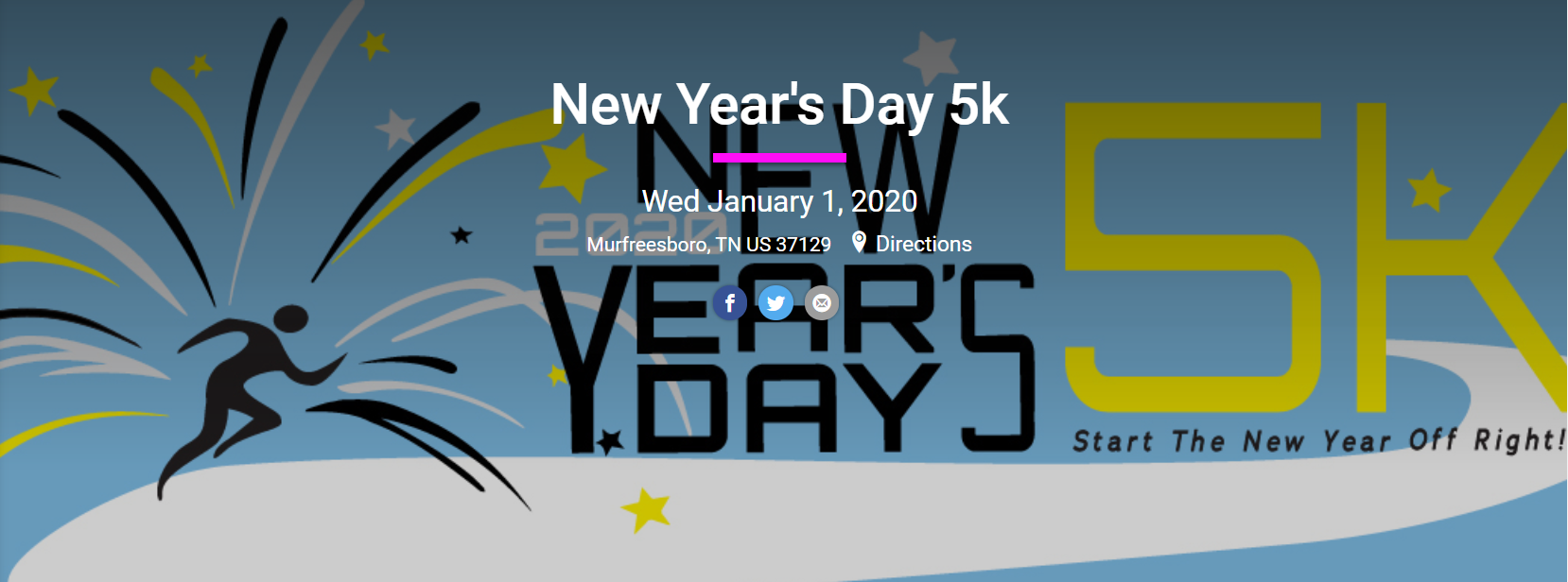 New Years Day 5K in Murfreesboro