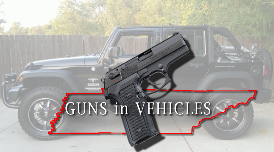 Tennessee Gun Laws Allow for Residents to go Armed and Loaded in their Personal Vehicle