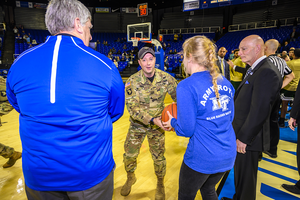 Those attending the upcoming MTSU Lady Raiders basketball game against visiting UTEP later this week in Murphy Center will be in for a treat.