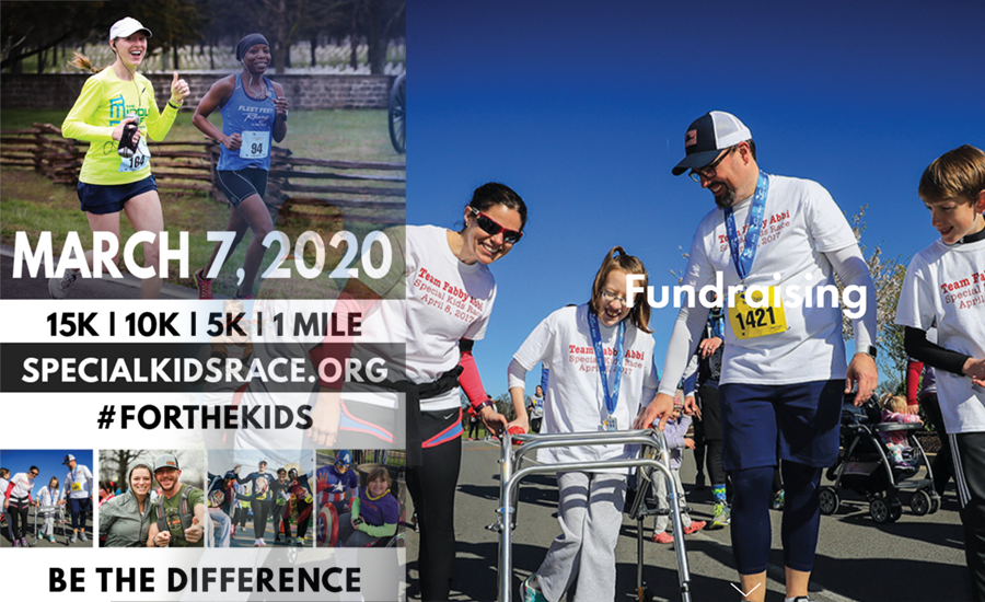On Saturday, March 7, 2020 at Murfreesboro Medical Clinic, Special Kids is planning for 3,000 participants in the 15K, 10K, 5K and 1-Mile Family Fun Run.