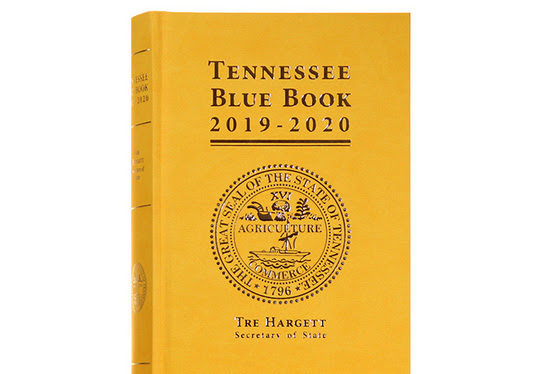 The 2019-2020 edition of the Tennessee Blue Book, released this week, honors the 100th anniversary of the ratification of the 19th Amendment granting women the right to vote.