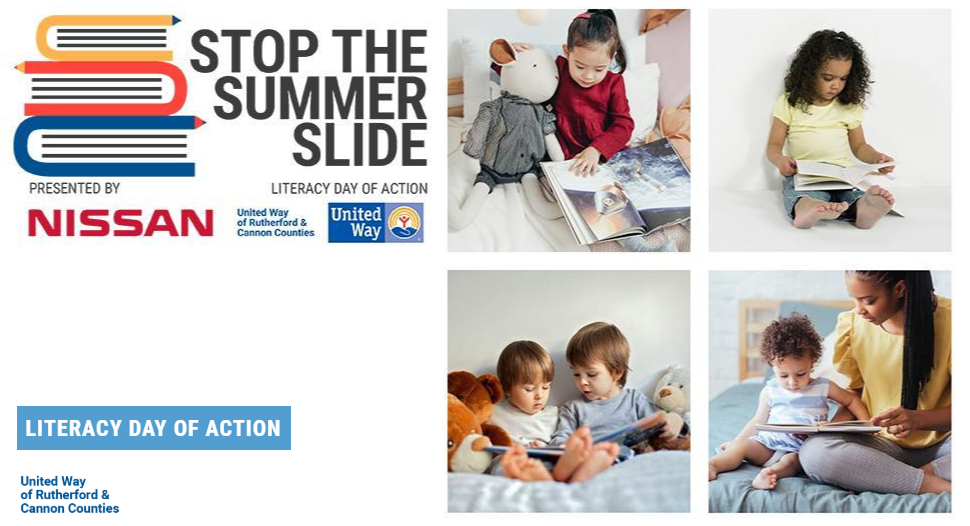 Help School Children with READING This Summer with the United Way