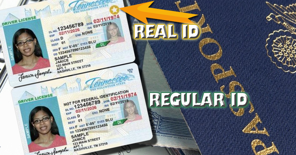 EXTENSION: REAL ID in Tennessee - It will now start on 10/1/2021