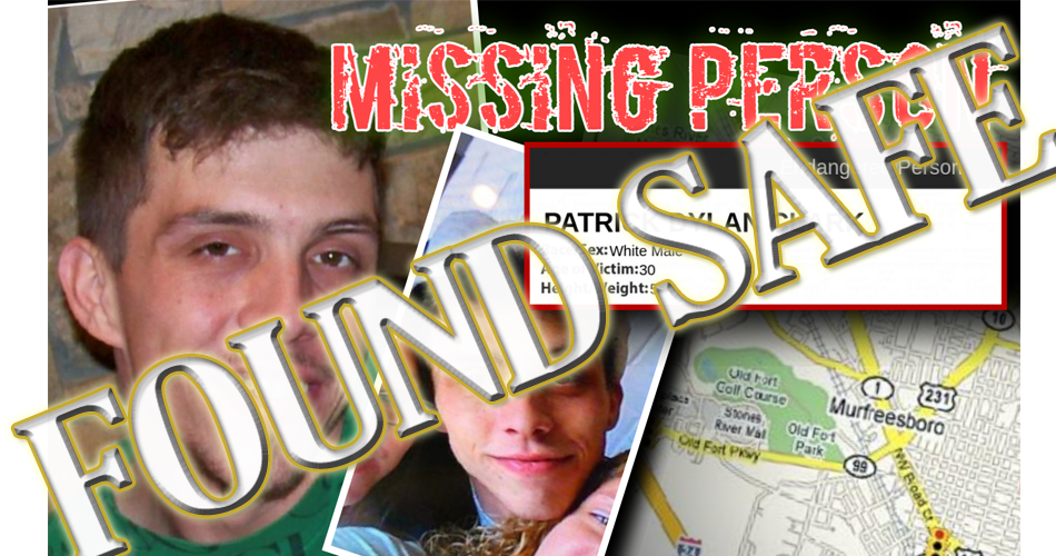 MURFREESBORO: Endangered Missing Man FOUND