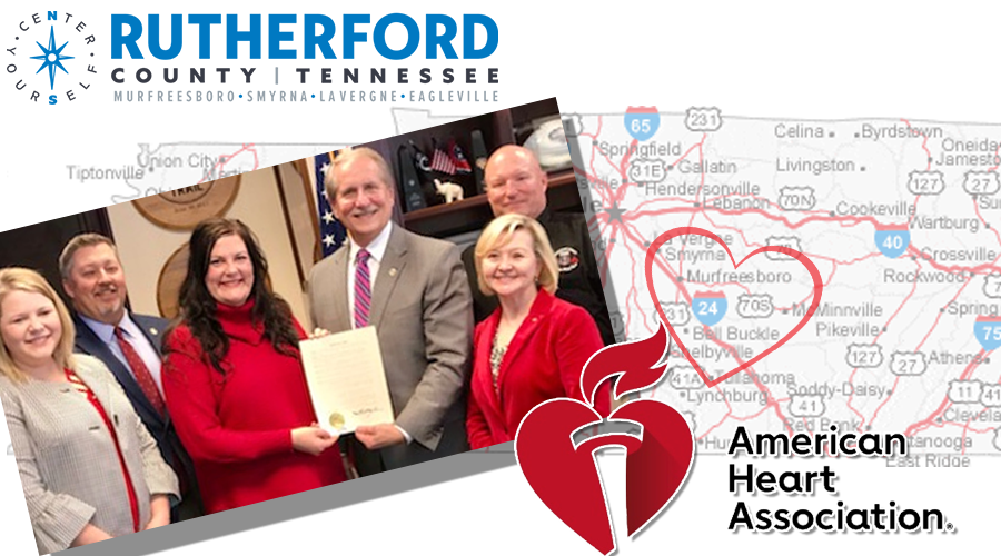 American Heart Association Cheers Rutherford County AND TN Legislature's Unanimous Support for T-CPR