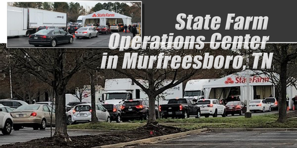 Murfreesboro State Farm Operations Center Employees gained tools to work from home