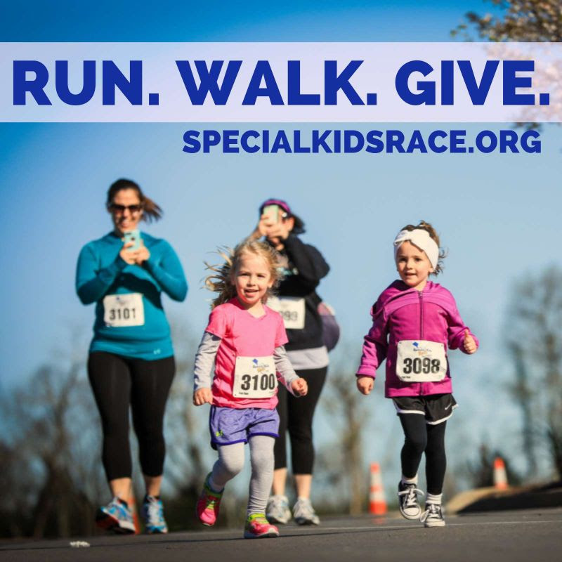 The 9th Annual Special Kids Race will be held this Saturday, March 7, at Murfreesboro Medical Clinic (MMC). Special Kids is hosting a 15K, 10K, 5K and one mile family fun run.