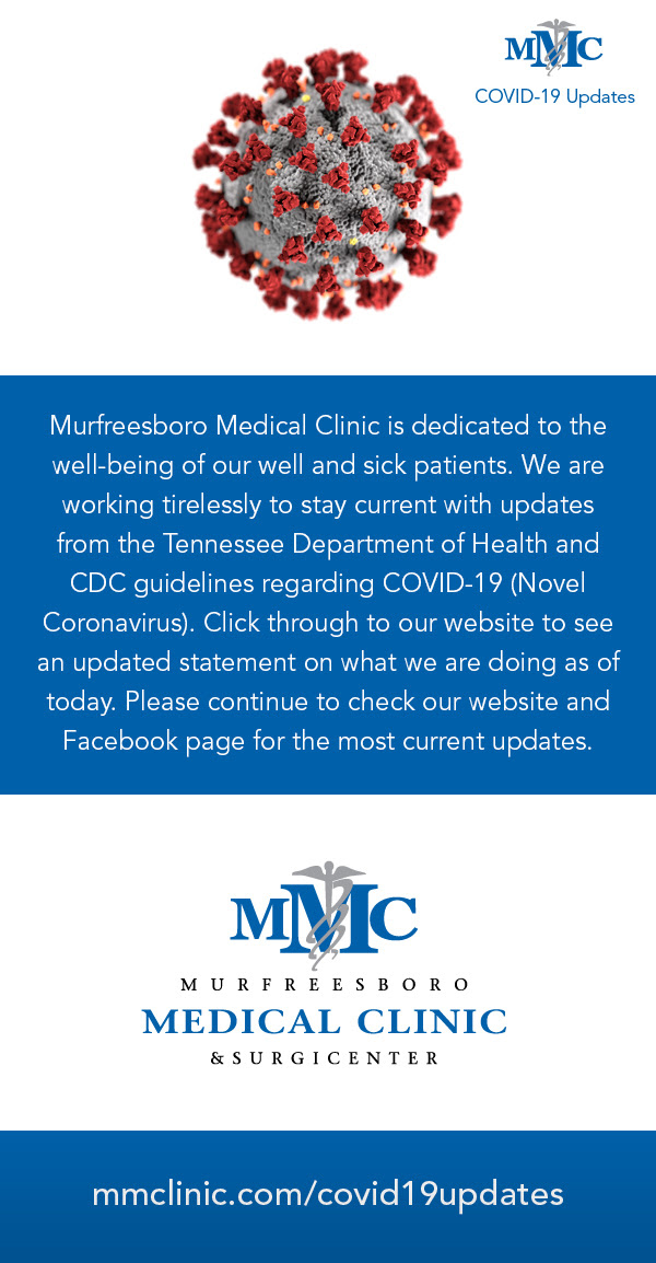 MESSAGE FROM Murfreesboro Medical Clinic