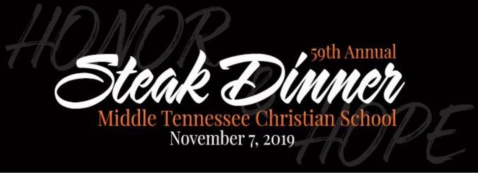 MTCS Steak Dinner on November 7, 2019