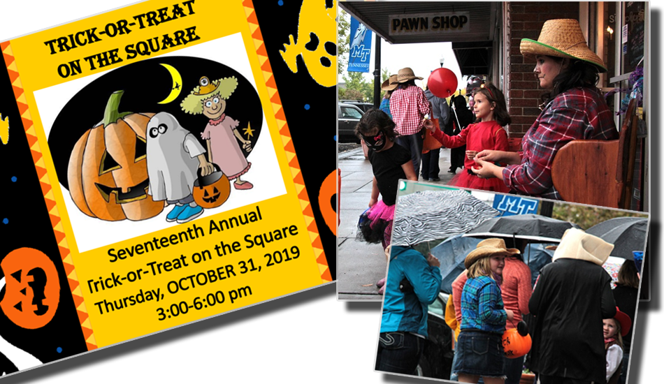 Halloween is on a Thursday this year - Trick or Treat on the Local Square