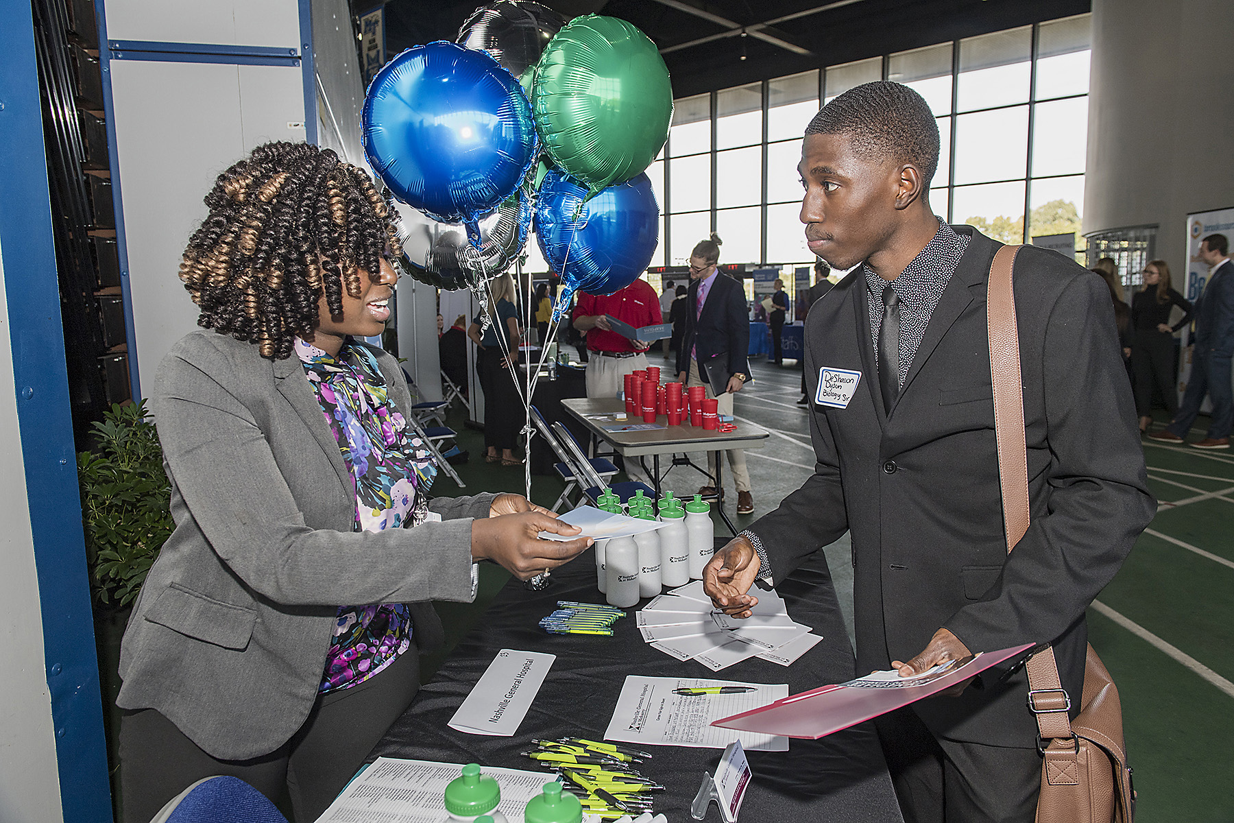 Area employers are invited to showcase their organizations to hundreds of job-seeking students and alumni at this year's upcoming Fall Career Fair -- the university's largest recruiting event and only campuswide career fair.