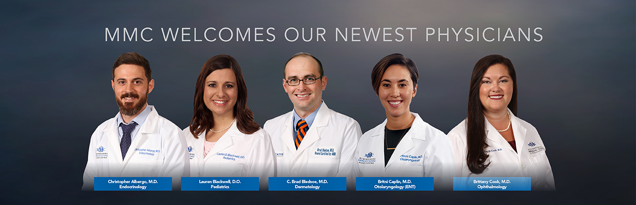 Murfreesboro Medical Clinic & SurgiCenter is proud to announce the addition of five new physicians to its practice in 2019