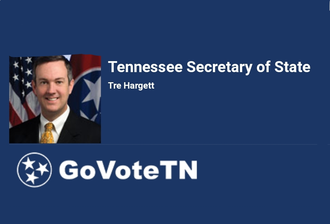 Secretary of State Tre Hargett encourages all Tennesseans to participate in National Voter Registration Day by registering to vote, checking...