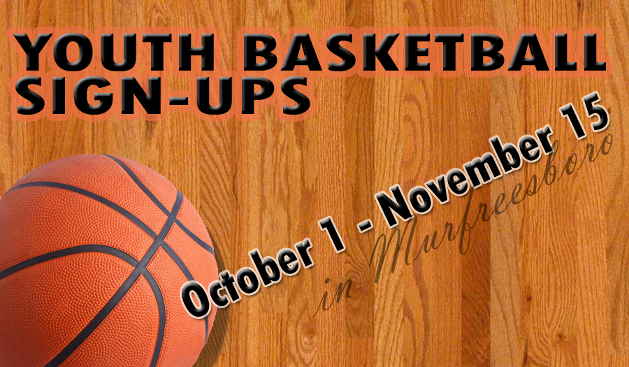 REMINDER: Youth Basketball Signups