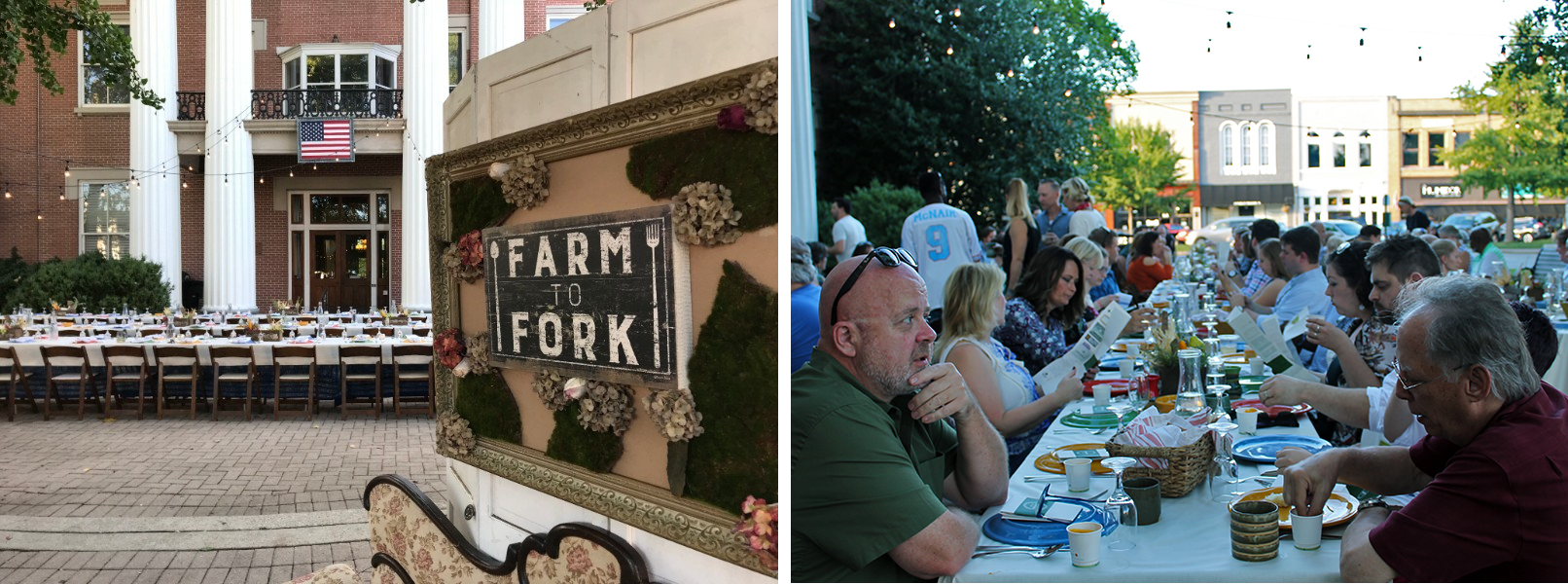 Downtown on the Farm, presented by Locally Owned Murfreesboro, is a farm-to-table fundraising dinner featuring items sourced from local farms that will be transformed into a culinary adventure by four local chefs.