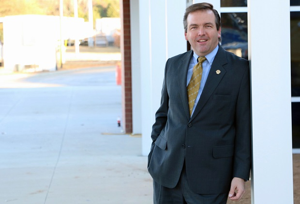 Aaron Holladay sees School Board role as way to plug into community, provide for future
