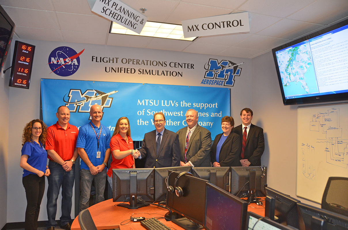 WSI Fusion added to the MTSU Aerospace Program