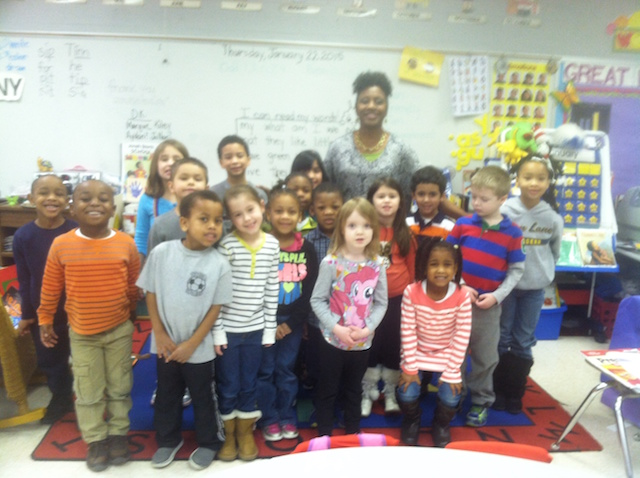 Angela Bingham, Kindergarten Teacher at Cason Lane Academy