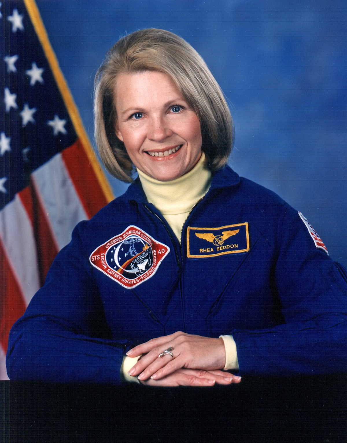 Astronaut Rhea Seddon to address girls and young women in Murfreesboro